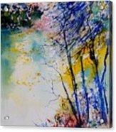 Watercolor 902081 Acrylic Print