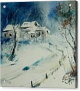 Watercolor 905001 Acrylic Print