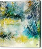 Watercolor  906020 Acrylic Print