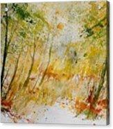 Watercolor  908012 Acrylic Print
