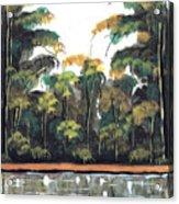 Watercolor 97 Acrylic Print