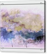 Watercolor Landscape Acrylic Print