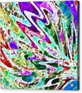 Watercolor My World Acrylic Print