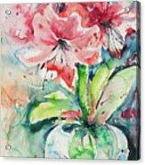 Watercolor Series 139 Acrylic Print