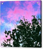 Watercolor Sky Acrylic Print