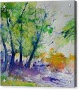 Watercolor Spring 2016 Acrylic Print