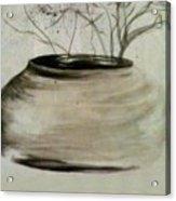 Watercolor Study Acrylic Print