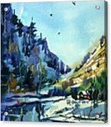 Watercolor3810 Acrylic Print