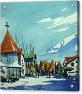 Watercolor3839 Acrylic Print