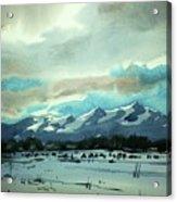 Watercolor4018 Acrylic Print