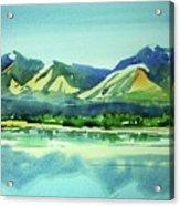 Watercolor4469 Acrylic Print