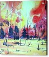 Watercolor4632 Acrylic Print