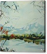 Watercolor5498 Acrylic Print