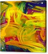 Watercolour Abstract Acrylic Print