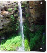 Waterfall 2 Acrylic Print