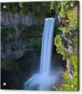 Waterfall At Brandywine Falls Provincial Park Acrylic Print