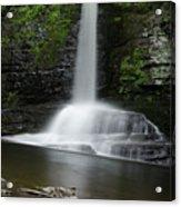 Waterfall At Childs Park Pa Acrylic Print