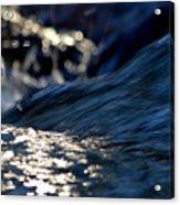 Waterfall At Dawn  Acrylic Print