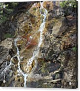 Waterfall At Lake Willoughby  Acrylic Print