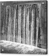 Waterfall Backdrop Acrylic Print