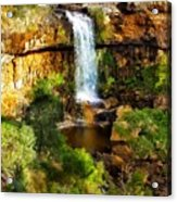 Waterfall Beauty Acrylic Print