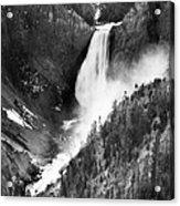 Waterfall, C1900 Acrylic Print