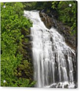 Waterfall Closeup Acrylic Print