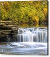 Waterfall Glen, Lemont, Il Acrylic Print