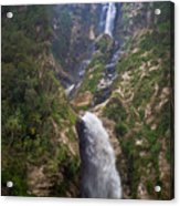 Waterfall Highlands Of Guatemala 1 Acrylic Print