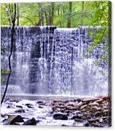 Waterfall In Gladwyne Acrylic Print