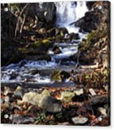 Waterfall In Kent Acrylic Print