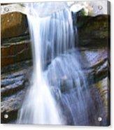 Waterfall In Nh Acrylic Print