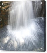 Waterfall In Nh Splash 3 Acrylic Print
