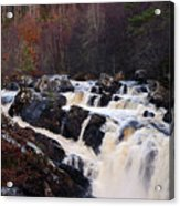 Waterfall In Scotland Acrylic Print