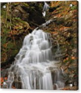 Waterfall In Smugglers Notch Acrylic Print