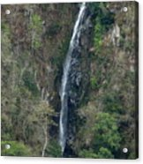 Waterfall In The Intag 3 Acrylic Print