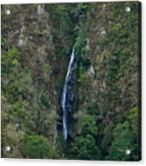 Waterfall In The Intag 5 Acrylic Print