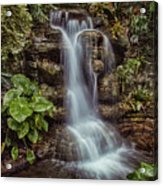 Waterfall In The Opryland Hotel Acrylic Print
