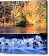 Water.fall Acrylic Print