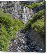 Waterfall Love Acrylic Print