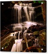 Waterfall Mcconnells Mills State Park Acrylic Print