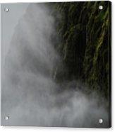 Waterfall Mist Acrylic Print