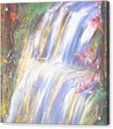 Waterfall Of El Dorado Acrylic Print