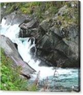 Waterfall Of Paradise Acrylic Print