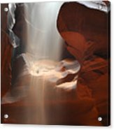 Waterfall Of Sand 2 Acrylic Print