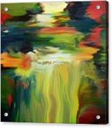 Waterfall On The Krka River Acrylic Print