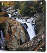 Waterfall On West Fork French Broad River Acrylic Print