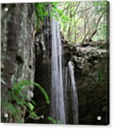 Waterfall Portrait Acrylic Print