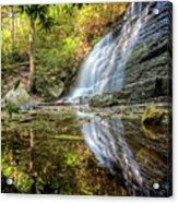 Waterfall Reflections Acrylic Print