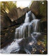 Maine Waterfall Acrylic Print